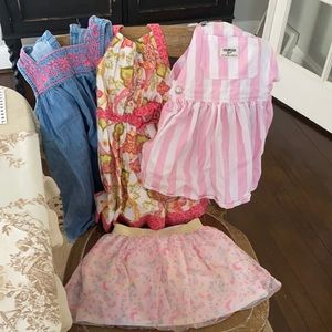 4 girls outfits